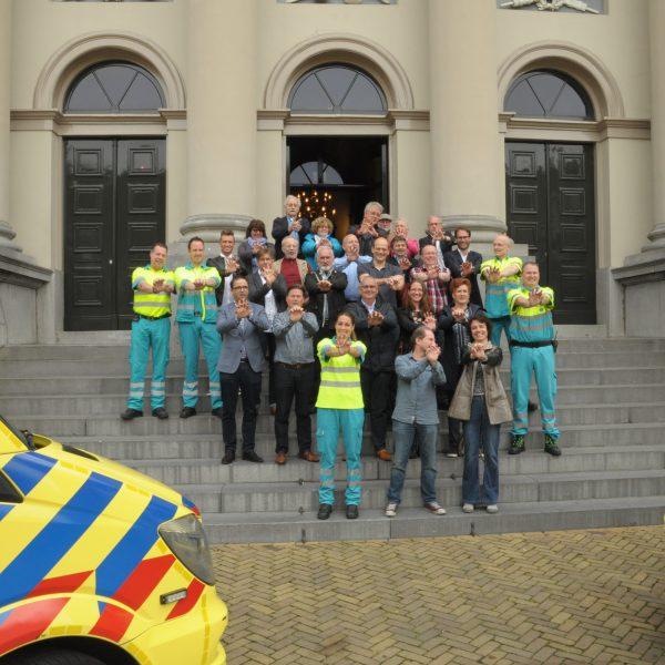 Reanimeren in het Stadhuis van Dordrecht